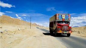 Camion cachemirien Image libre de droits