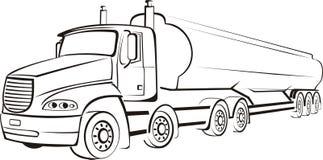 Camion, camion, tir Illustrazione di Stock