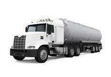 Camion cisterna del combustibile Fotografia Stock Libera da Diritti