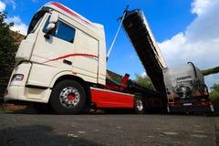 Camion citerne Images libres de droits
