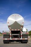 Camion-citerne argenté Photo libre de droits