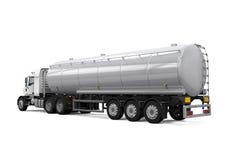 Camion-citerne aspirateur de carburant Images libres de droits