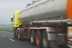 Camion-citerne d'essence Images stock