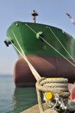 camion-citerne de bateau de pétrole brut de transporteur photo stock