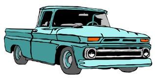 Camion classique illustration de vecteur