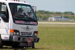 Camion commerciale Immagine Stock