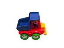 Camion con il percorso Fotografie Stock