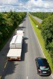 Camion con le zolle concrete Immagine Stock Libera da Diritti
