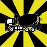 Camion concreto Fotografia Stock Libera da Diritti