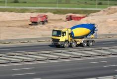 Camion concreto Immagine Stock Libera da Diritti