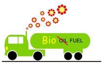 Camion d'écologie illustration de vecteur