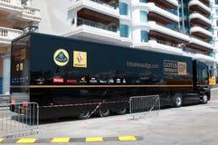 Camion d'équipe de généraliste de Lotus-Renault Image stock