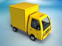 Camion d'affaires illustration de vecteur
