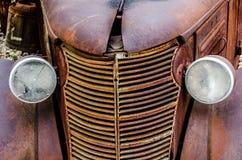 Camion d'annata dell'olio Fotografia Stock Libera da Diritti