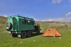 Camion d'armée de ZIL 131 Images stock