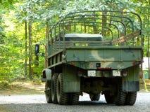 Camion d'armée en surplus Photographie stock libre de droits