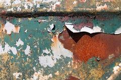 Camion d'arrugginimento del metallo Fotografia Stock