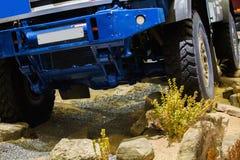Camion d'entraînement à quatre roues Photographie stock