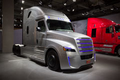 Camion d'inspiration de Freightliner Images stock