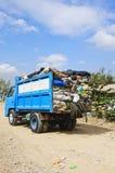 Camion d'ordures photographie stock