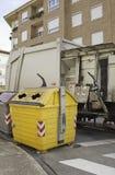 Camion d'ordures photos stock