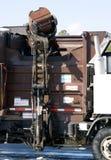 Camion d'ordures photo libre de droits
