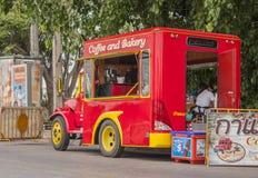 Camion de café photos stock
