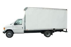 Camion de cargaison Photographie stock