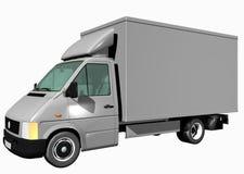 Camion de cargaison Photographie stock libre de droits
