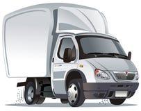 Camion de cargaison de dessin animé de vecteur Images stock