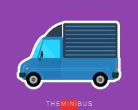 Camion de cargaison de la livraison Images stock