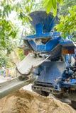 Camion de ciment image libre de droits