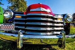 Camion de collecte 1951 chevy antique Image libre de droits