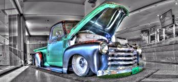 Camion de collecte classique de Chevy d'Américain des années 1940 Photos libres de droits
