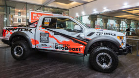 2017 camion de course de Ford F-150 Baja Raptor Photo stock
