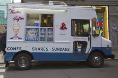 Camion de crème glacée dans Midtown Manhattan Photo libre de droits