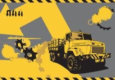 Camion de cru illustration stock