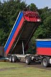 Camion de déchargeur Photographie stock libre de droits