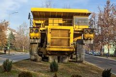 Camion de déchargeur jaune 02 Photographie stock