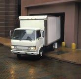 Camion de distribution Photo libre de droits