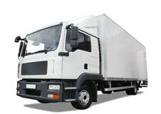 camion de distribution images stock