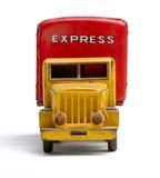 Camion de distribution de jouet Photographie stock libre de droits