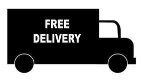 Camion de distribution libre Photo stock