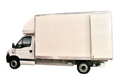 Camion de glace Photographie stock libre de droits