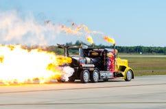 Camion de jet d'onde de choc photos stock