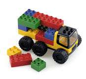 Camion de jouet Photo stock