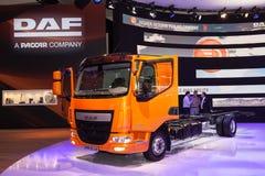 Camion de l'euro 6 de la DAF LF 210 Photographie stock