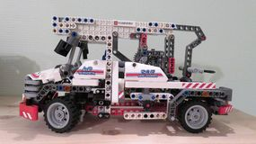 Camion de LEGO Photos stock