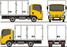 Camion de livraison d'Isuzu NPR Image stock