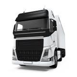 Camion de livraison de cargaison Photographie stock libre de droits